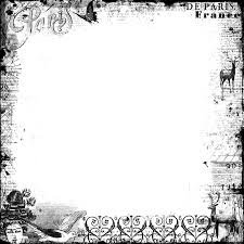 antique halloween background png frame vintage french by hggraphicdesigns on deviantart
