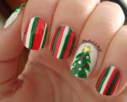 nailed it nz nail art for short nails 4 christmas tree nails