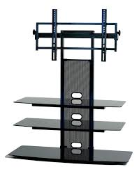 How Much To Wall Mount A Tv Amazon Com Transdeco Tv Stand With Universal Mounting System For