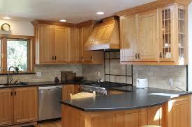 contemporary custom modern kitchen cabinets elegant cherry wood 17