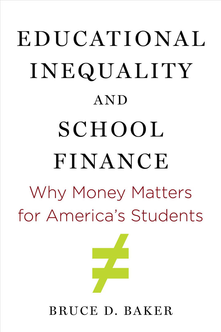 Educational Inequality and School Finance cover