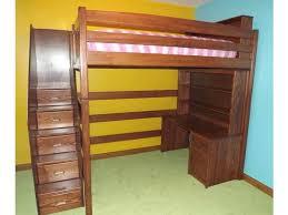 l136 custom full loft bed the bunk u0026 loft factory