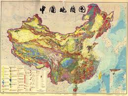 China Topographic Map by National Soil Maps Eudasm Esdac European Commission