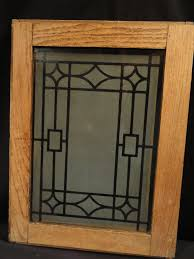 oak kitchen cabinets with frosted glass doors antique oak