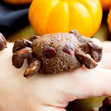 Nut Free Halloween Treats by Vegan Halloween Spider Treats V Paleo Gluten Free Dairy Free