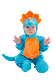 Dinosaur Halloween Costumes Infant Blue Orange Dino Costume