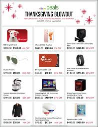 thanksgiving day online deals ebay announces deals for thanksgiving black friday and cyber
