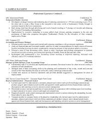 Financial Resume Sample by Financial Analyst Cover Letter Samples