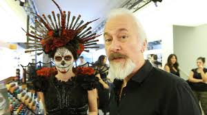 dead makeup halloween rick baker day of the dead halloween makeup tutorial youtube