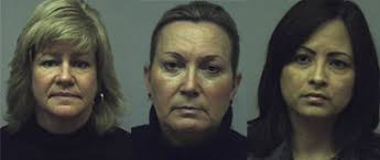Pamela Barthel Faber, Susan Schroter and Gricel Feliciano-Soto are charged with conspiracy, computer theft, forgery and corporate misconduct stemming from a ... - 10356496-large