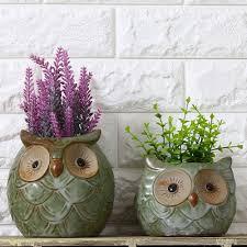 Succulents Pots For Sale by Popular Owl Succulent Pot Buy Cheap Owl Succulent Pot Lots From