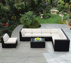 Painting Wicker Patio Furniture - outdoor wicker sectional home design by fuller