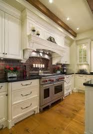 kitchen backsplash rustic faux brick kitchen backsplash ideas
