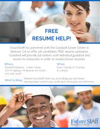 Free Online Resume Help by Free Resume Help For Job Seekers In Newnan Ga Future Staff Inc