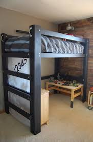 diy queen loft bed plans with desk wooden pdf woodworking joints