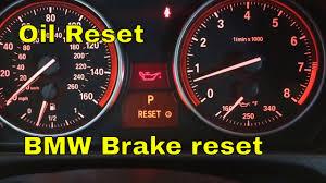 bmw 328i 335i 335xi 328xi oil reset brake reset youtube