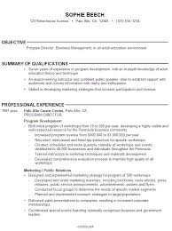 accounting objective for resume   Template happytom co