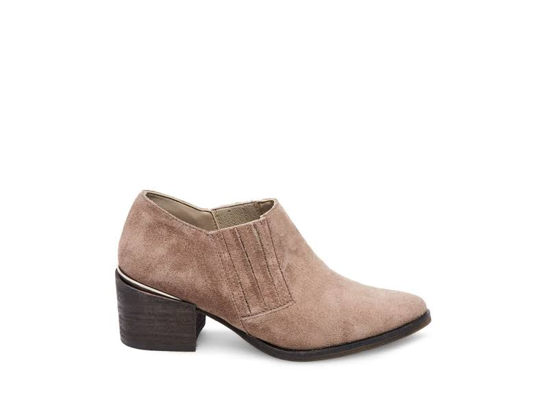Steve Madden Korral Suede Taupe Leather Boot 10M