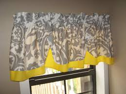Custom Made Kitchen Curtains by Countryruffles From Etsy Customized Yellow U0026 Gray Curtains Baby