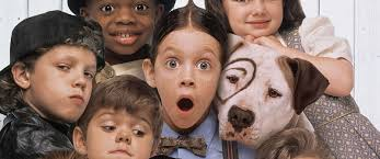 PHOTO  The cast of the      film  quot The Little Rascals quot  are seen in ABC News   Go com