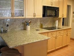 granite countertop how tall are base kitchen cabinets miele semi