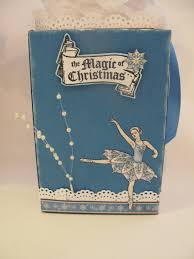 annes papercreations how to decorate a serial box for christmas gift