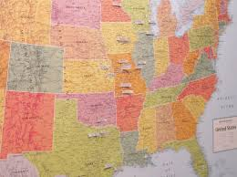 World Map Pinboard by Diy Pinboard Travel Map Part 2 Loving Here
