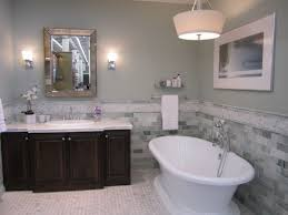 decoration ideas fantastic free standing bathtub with dark brown