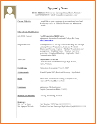 Example Of Resume No Experience by Resume With Little Work Experience Sample Resume For Your Job