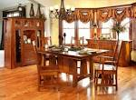 Santa Cruz Mission Style Quartersawn Oak Dining Set | Amish ...