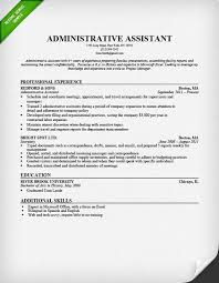 Administrative Secretary Resume Sample by Administrative Assistant Resume Sample Resume Genius