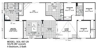 5 bedroom double wide mobile home floor plans manufactured homes 5