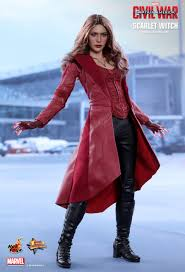 marvel scarlet witch costume toys captain america civil war scarlet witch 1 6th scale