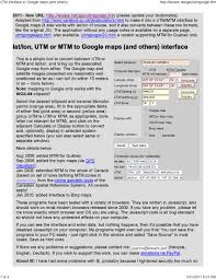 Lat Long Map Find A Location On Bing Google And Usgs Topo Maps Using Utm Lat