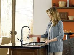 Moen Kitchen Faucet Review by Moen 7594srs Review One Handle High Arc Pulldown Kitchen Faucet