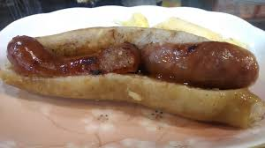 Small sausage in large sausage