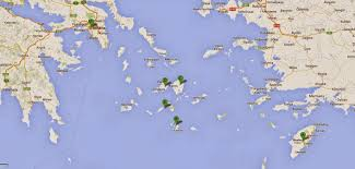Google Maps Greece by Travel Post I Love Greece Wit Myt Conceptual Adornment