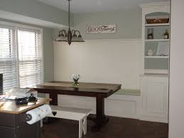 Custom Made Dining Room Furniture Custom Made L Shaped Built In Banquette Bench With Hidden Storage