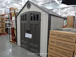Rubbermaid Garden Tool Storage Shed by Storage Sheds At Costco Style Pixelmari Com