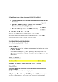 Sample Resume For Senior Manager by Retail Operations And Sales Manager Resume Sample Human Resources