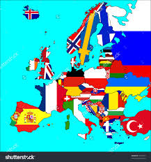 Show Map Of Europe by Download Map Of All The Countries In Europe Major Tourist