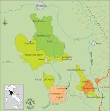 Tuscany Map Montevertine U2013 Rosenthal Wine Merchant