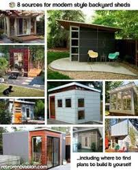 Backyard Office Prefab by At First It Looks Like A Regular Backyard Shed But Just Wait