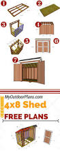 How To Build A Storage Shed Plans Free by Best 25 Lean To Shed Plans Ideas On Pinterest Lean To Shed To