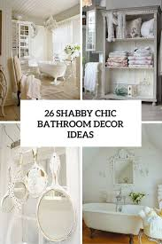 shabby chic bathrooms bathroom decor