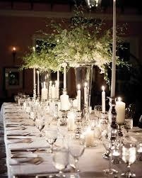 Black Blue And Silver Table Settings Glamorous Wedding Centerpieces Martha Stewart Weddings