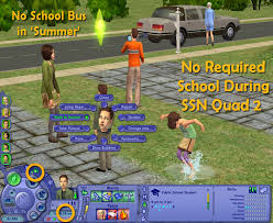 Mod The Sims        Let Kids Be Kids        Lifespan and School Vacation Mods Advertisement