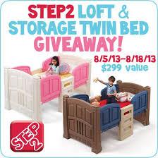 step2 loft u0026 storage toddler bed giveaway the denver housewife