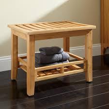 Vanity Stools With Wheels Bathroom Bench Seat Teak Shower Bench Seat Folding Sauna Stool