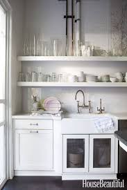 House Beautiful Kitchen Design Open Shelving These 15 Kitchens Might Convince You Otherwise